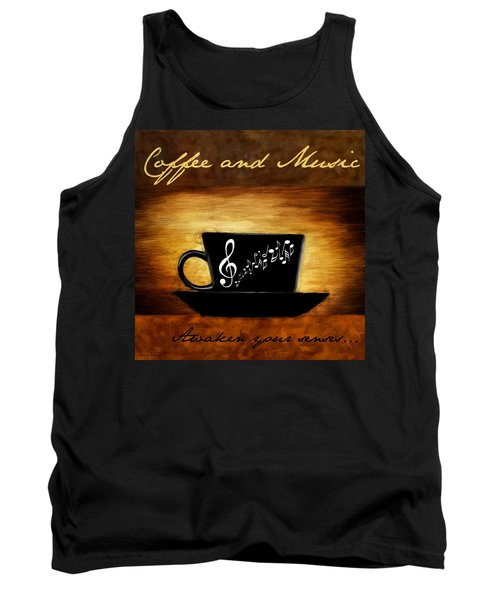 Coffee And Music Tank Top