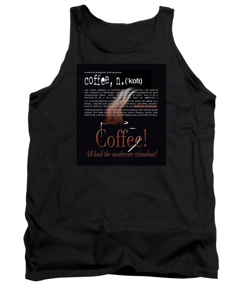 Coffee - Definition  Tank Top
