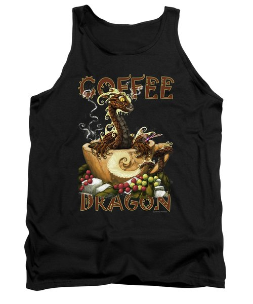 Coffee Dragon Tank Top