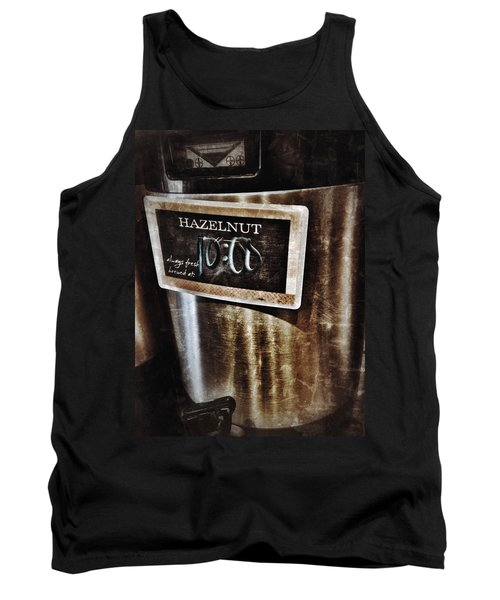 Coffee Time Tank Top by Mark David Gerson
