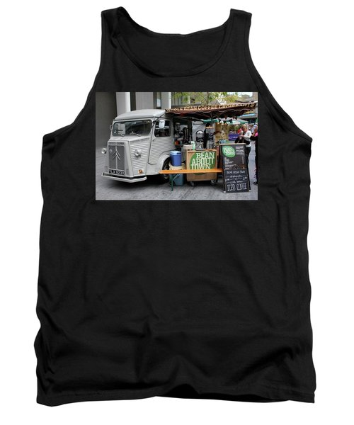 Tank Top featuring the photograph Coffee Truck by Christin Brodie