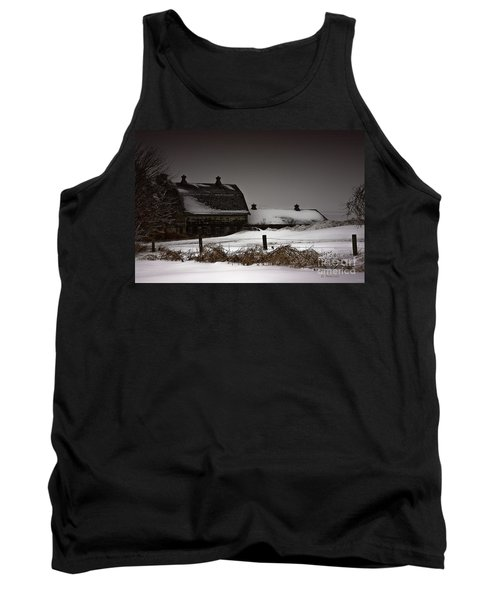 Cold Winter Night Tank Top