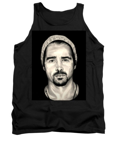 Colin Farrell  Total Recall Tank Top by Fred Larucci