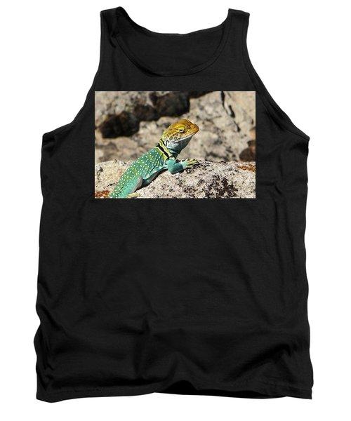 Collared Lizard Tank Top