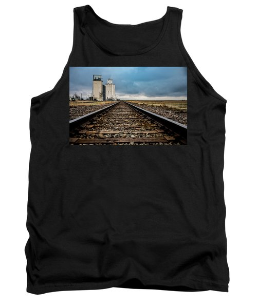Tank Top featuring the photograph Collyer Tracks by Darren White