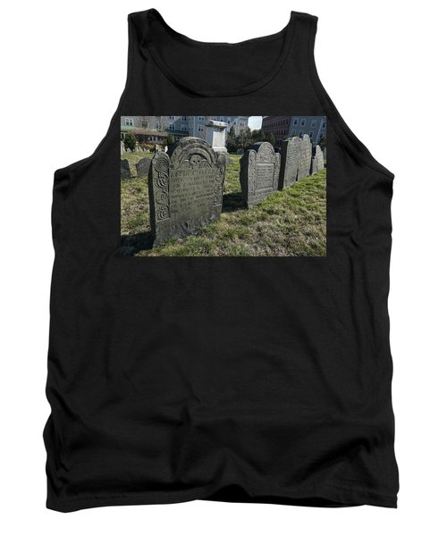 Colonial Graves At Phipps Street Tank Top