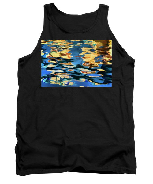 Color Abstraction Lxix Tank Top