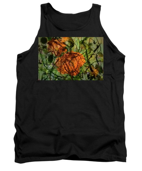 Color Abstraction Xx Tank Top