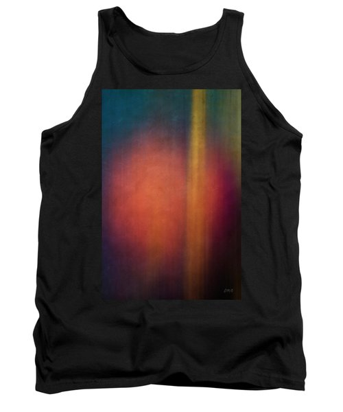 Color Abstraction Xxvii Tank Top by David Gordon