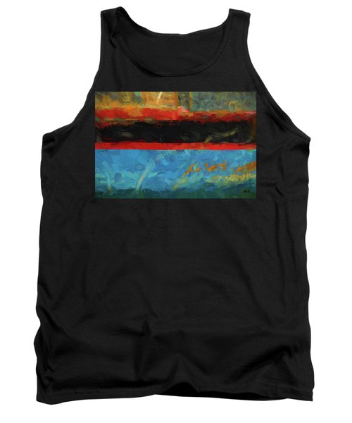 Color Abstraction Xxxix Tank Top