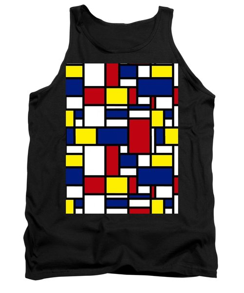 Color Box Tank Top by Now