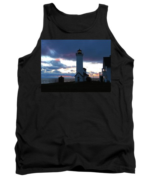 Color Of December, Tibbetts Point Lighthouse Tank Top