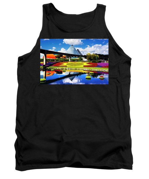 Tank Top featuring the photograph Color Of Imagination by Greg Fortier