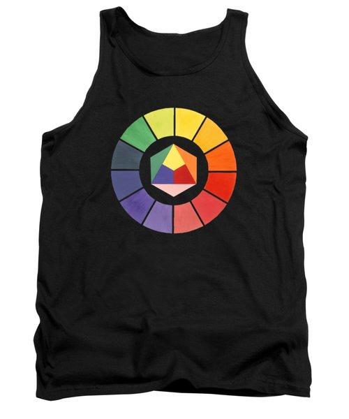 Color Wheel Tank Top