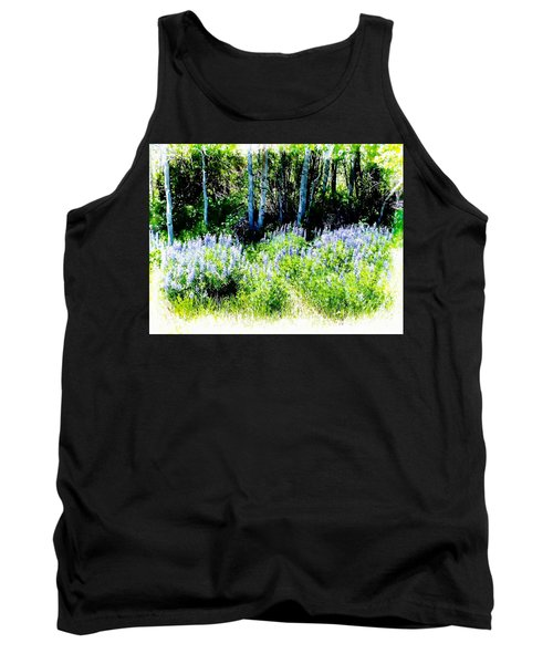Colorado Apens And Flowers Tank Top by Joseph Hendrix