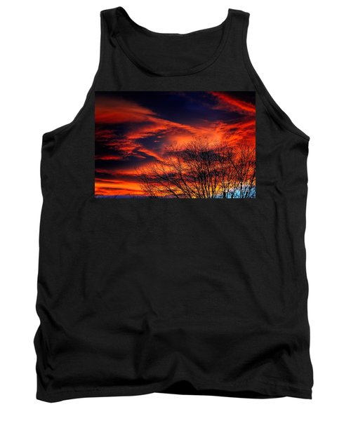 Colorado Fire In The Sky Tank Top
