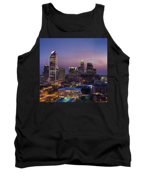 Colorful Charlotte Tank Top by Serge Skiba