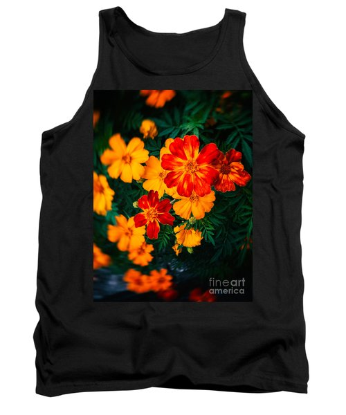 Tank Top featuring the photograph Colorful Flowers by Silvia Ganora