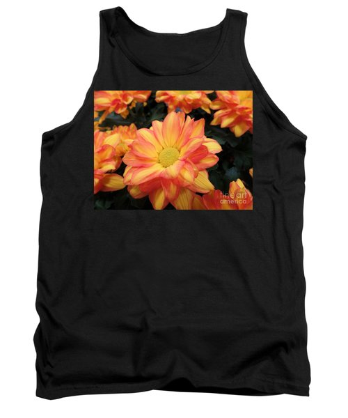 Tank Top featuring the photograph Colorful Mums by Ray Shrewsberry