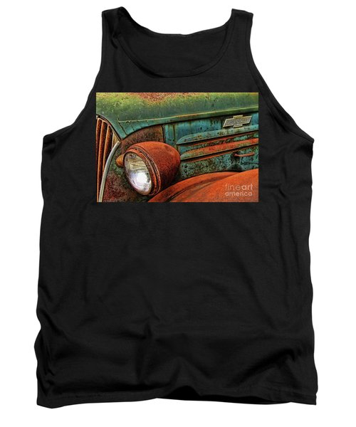 Colorful Rust Tank Top