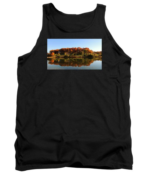 Colors Of Autumn Tank Top by Teresa Schomig