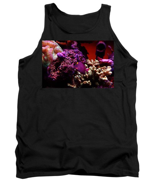 Colors Of Underwater Life Tank Top