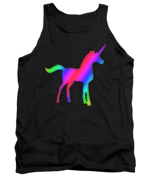 Colourful Unicorn  Tank Top