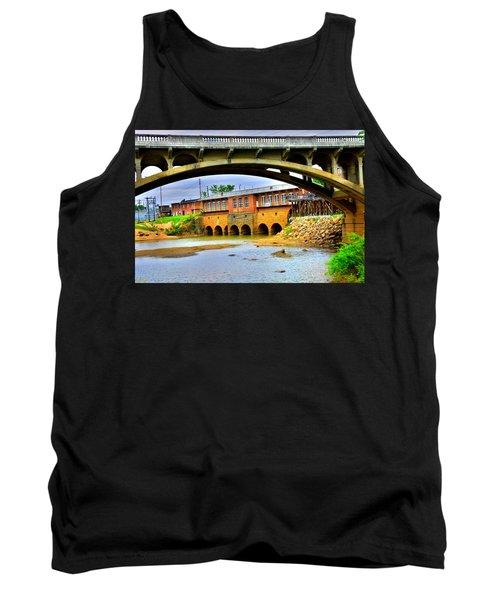 Columbia Canal At Gervais Street Bridge Tank Top