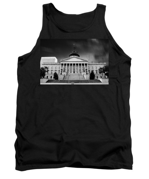 Columbia South Carolina State House Tank Top by Gray  Artus