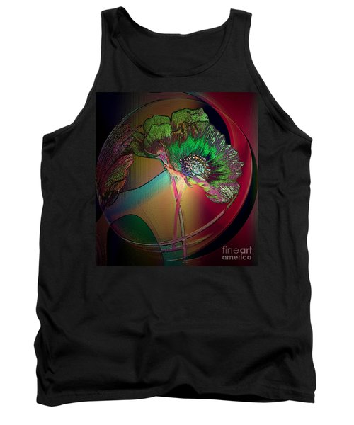 Tank Top featuring the photograph Comely Cosmos by Irma BACKELANT GALLERIES