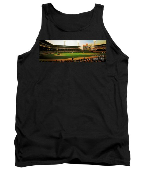 Tank Top featuring the photograph Comiskey Park  by Tom Jelen