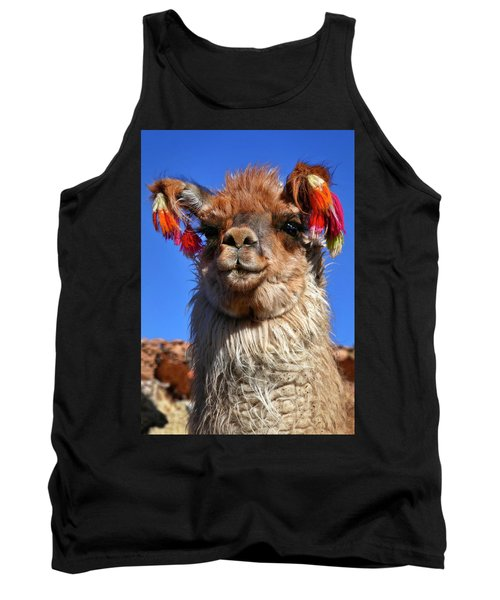 Tank Top featuring the photograph Como Se Llama by Skip Hunt