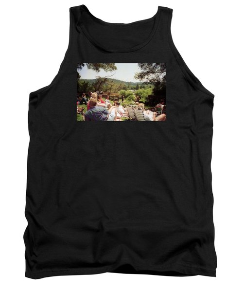 Concert Patrons Rest In The Sun Tank Top