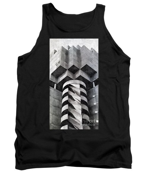 Concrete Geometry Tank Top by Paul Wilford