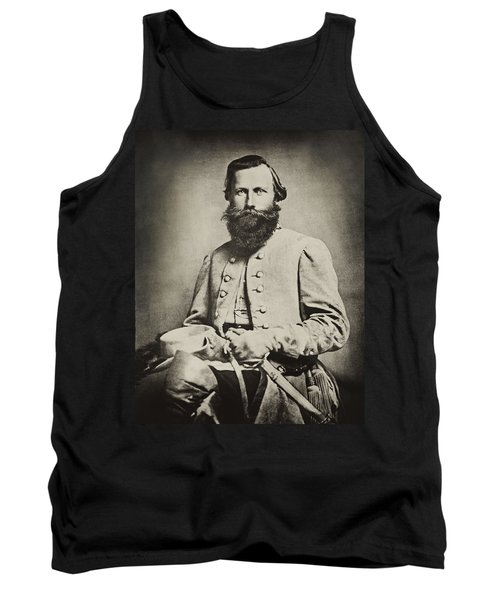 Confederate Jeb Stuart Tank Top by Paul W Faust -  Impressions of Light