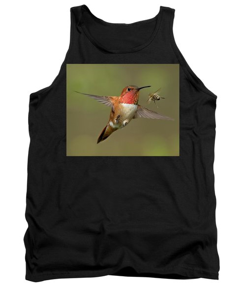 Confrontation Tank Top by Sheldon Bilsker