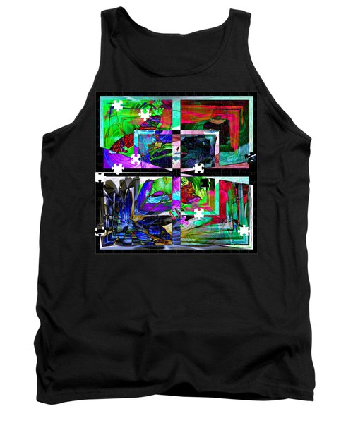 Confused Tank Top