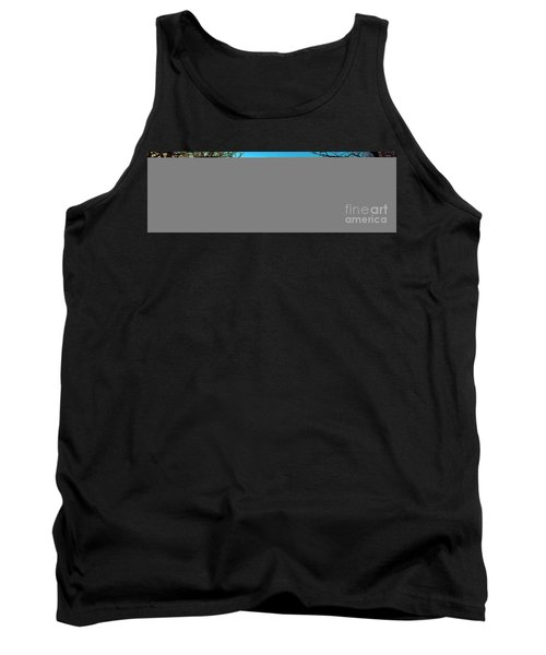 Tank Top featuring the photograph Conley Road Winter  by Tom Jelen