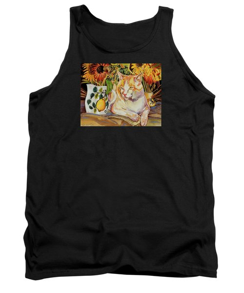 Tank Top featuring the painting Contentment by Bob Coonts