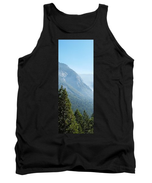 1 Of 4 Controlled Burn Of Yosemite Section Tank Top