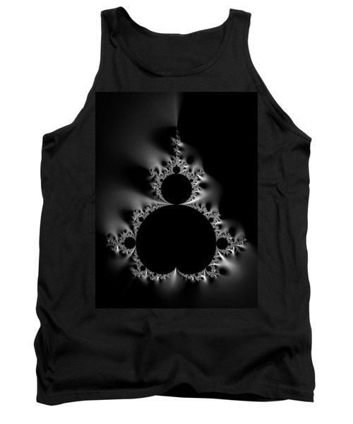 Cool Black And White Mandelbrot Set Tank Top