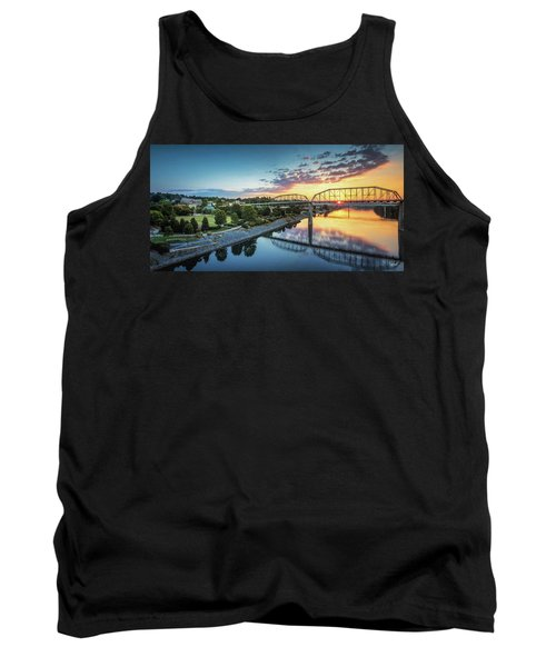 Coolidge Park Sunrise Panoramic Tank Top