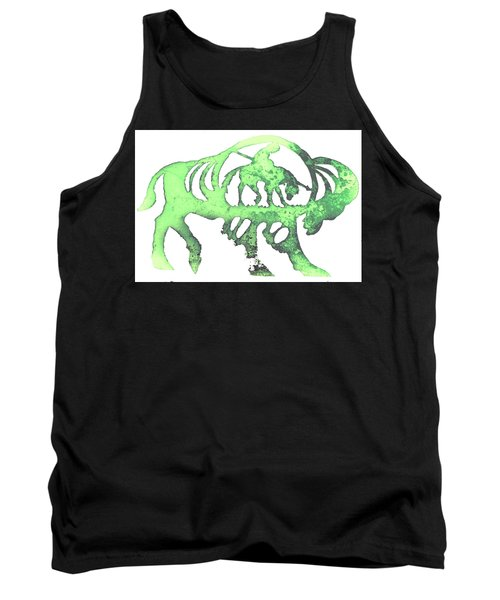 Copper Buffalo Tank Top by Larry Campbell