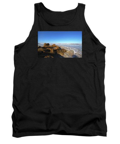 Coquina Beach Tank Top by Robert Och