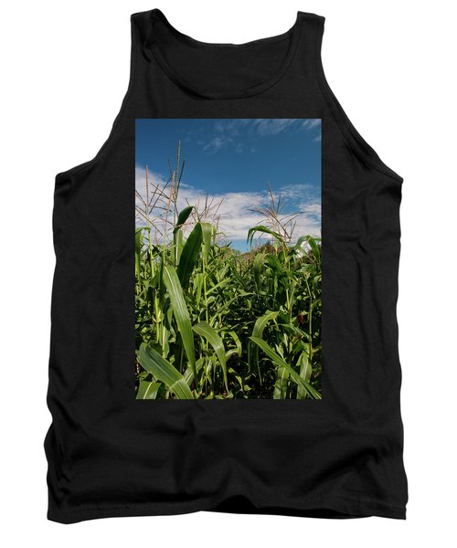 Tank Top featuring the photograph Corn 2287 by Guy Whiteley