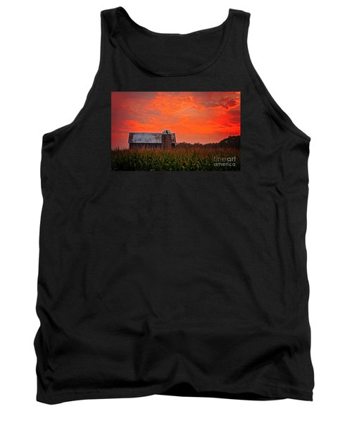 Tank Top featuring the photograph Corn by Randall  Cogle