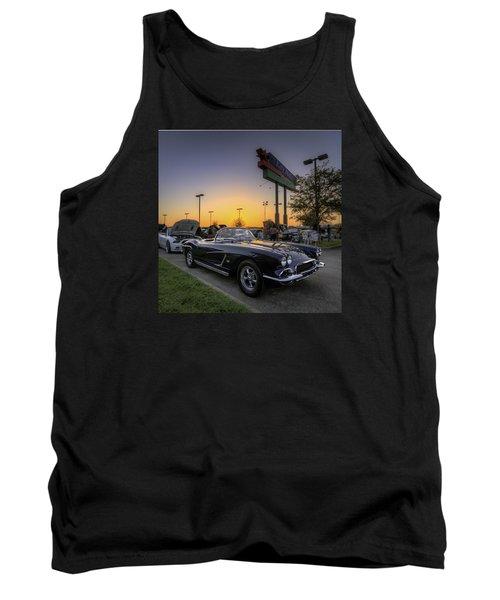 Corvette Sunset Tank Top