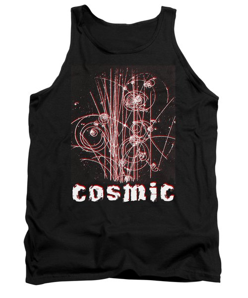 Tank Top featuring the photograph Cosmic Bubbles by Robert G Kernodle