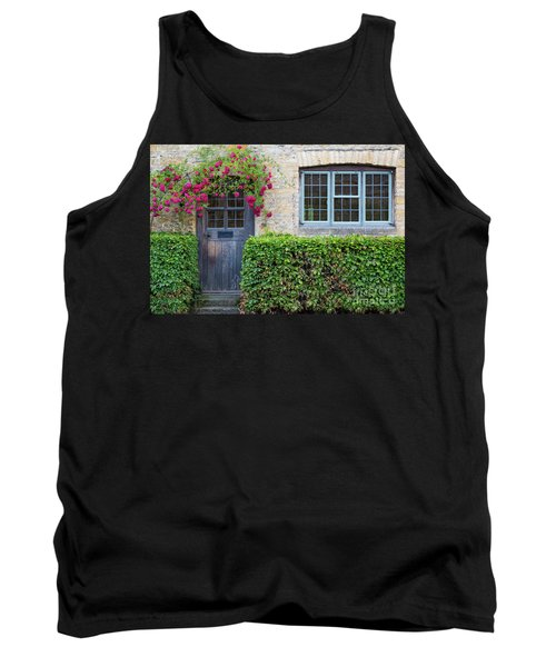 Tank Top featuring the photograph Cotswolds Cottage Home by Brian Jannsen