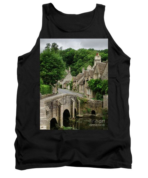 Cotswolds Village Castle Combe Tank Top by IPics Photography